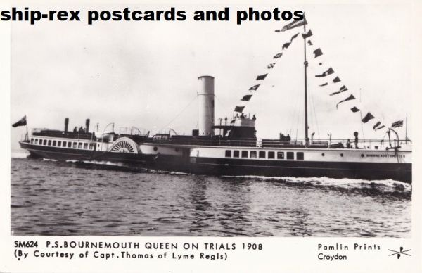 BOURNEMOUTH QUEEN (Red Funnel)~b3